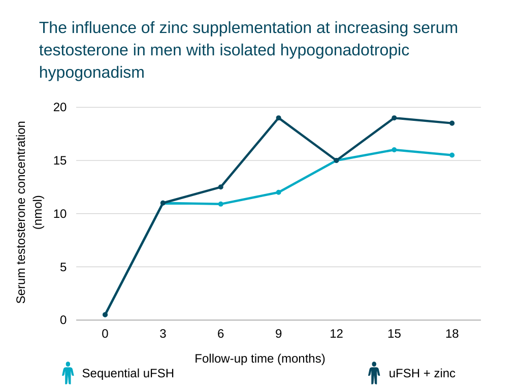 foods that increase testosterone The influence of zinc supplementation at increasing serum testosterone in men with isolated hypogonadotropic hypogonadism
